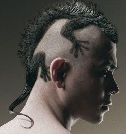 Most epic hair style ever  - totaly crazy