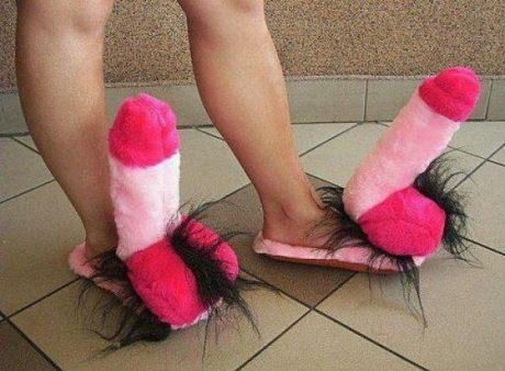 http://24yes.com/gag/This funny slippers are gift for my sweet girlfriend :)
